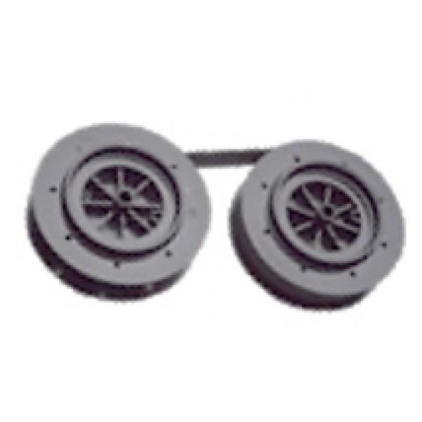 Data Products LB300/600 Black Twin Spool Ribbon